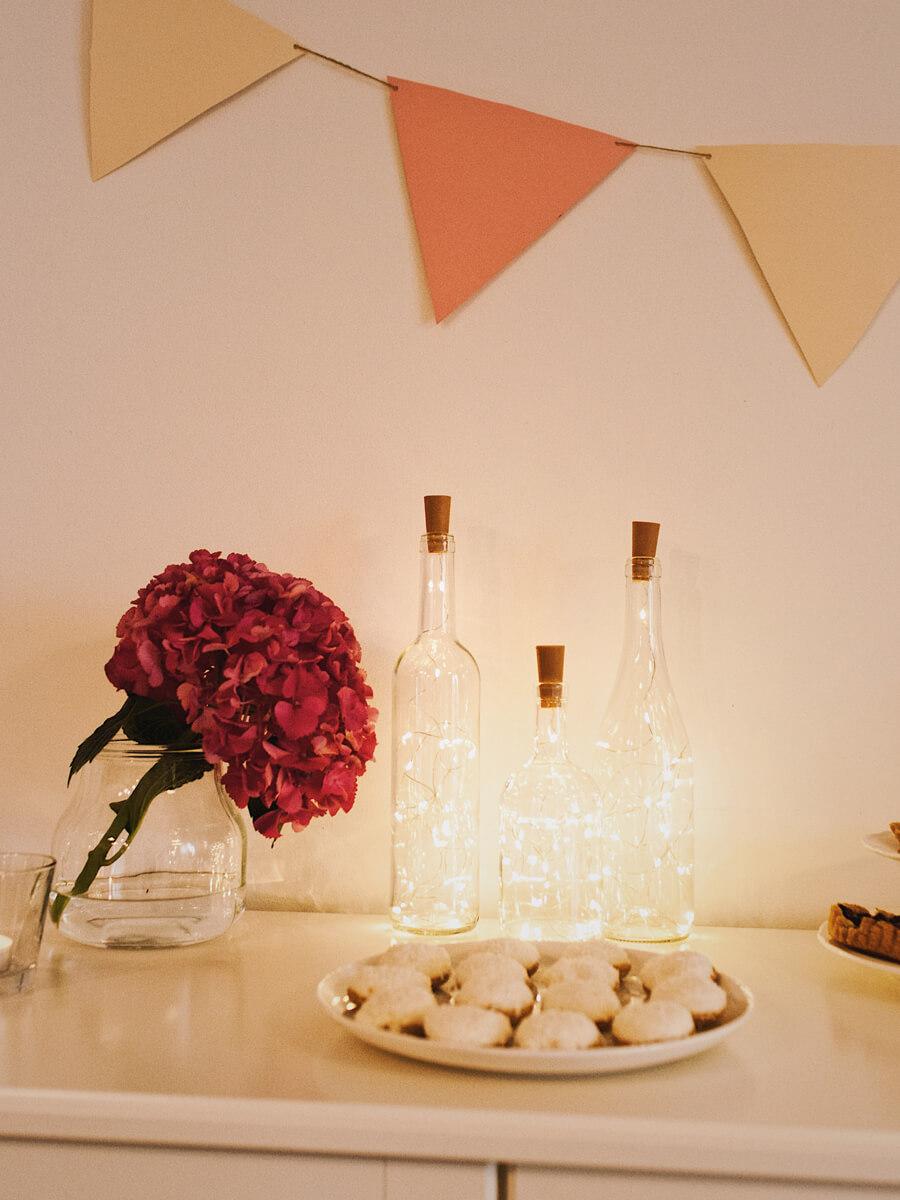 Wypożyczalnia dekoracji - świetlna ozdoba na słodki stół