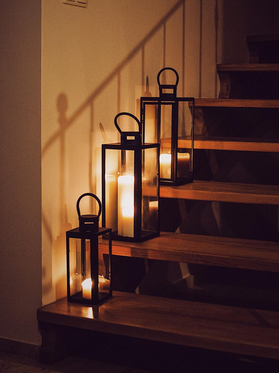 Metalowe latarenki na wynajem